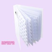 70 pairs3D Eyelash Storage Book Makeup Display Container Eyelashes Sample Catalog Grafting Card