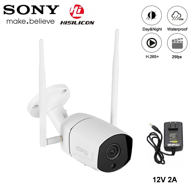 5MP/3MP 36pcs Infared H.265+ ICsee 25fps 128G ONVIF IP66 Outdoor Two-Audio Two Antenna Waterproof WIFI Wireless IP CCTV Camera