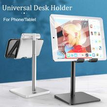 Masaüstü tutucu Tablet standı telefon tutucu masası sFor iPad Pro 11 10.5 9.7 mini için Samsung Xiaomi desteği uzaktan ağ öğretim
