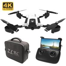 New Headless RC Drone 720P 4K HD Dual Camera Real Time Aerial Video Racing Dron Quadrocopter Auto Return RTF WIFI FPV Helicopter jmtf17840 d fpv 2 4g 6ch 130 rtf full set tl130h1 cc3d 520tvl hd camera 5 8g 32ch goggle rc mini racing quadrocopter drone