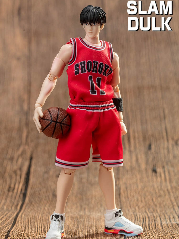 GREAT TOYS Rukawa Kaede Shohoku Action Figure SLAM DUNK Shohoku GT Model Toy NO.11 Doll