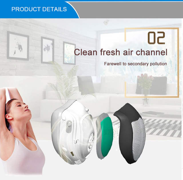 Smart Electric Face Mask Air Purifying Anti Dust Pollution Fresh Air Supply Filter Haze Silicone Seal Electric Fan Mask 4