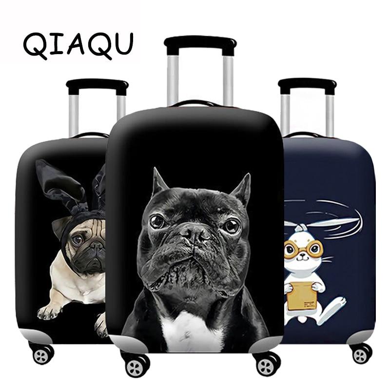 Дорожные аксессуары чехол для чемодана с рисунком животных Защитный чехол для багажа Мультфильм Эластичная сумка для пыли Чехол для