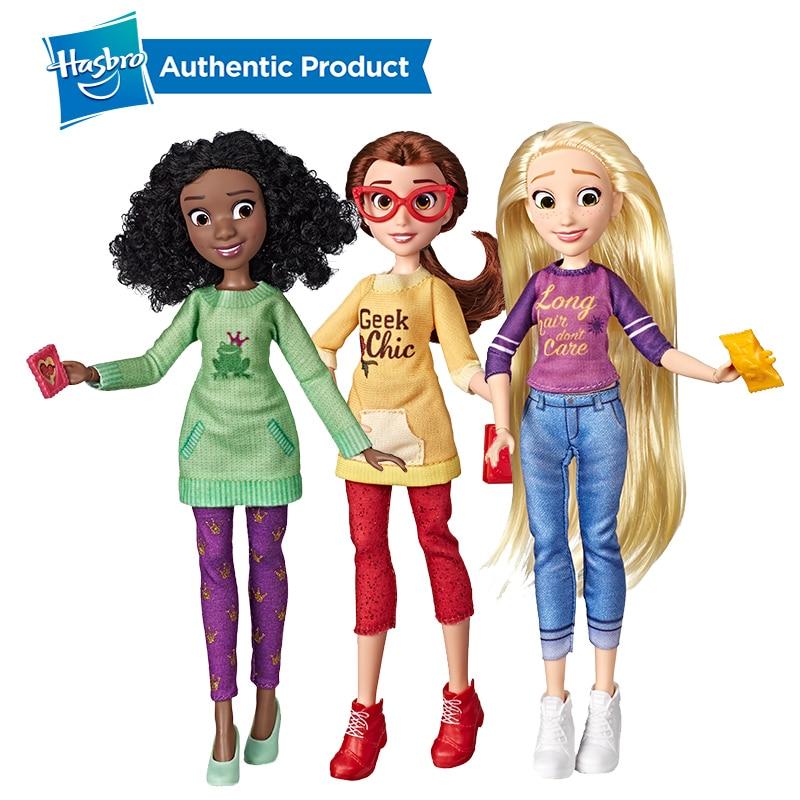 Hasbro Disney Princess Belle Rapunzel Tiana Comfy Squad Ralph Birthday Wreck-It Ralph Ralph Breaks The Internet Dolls