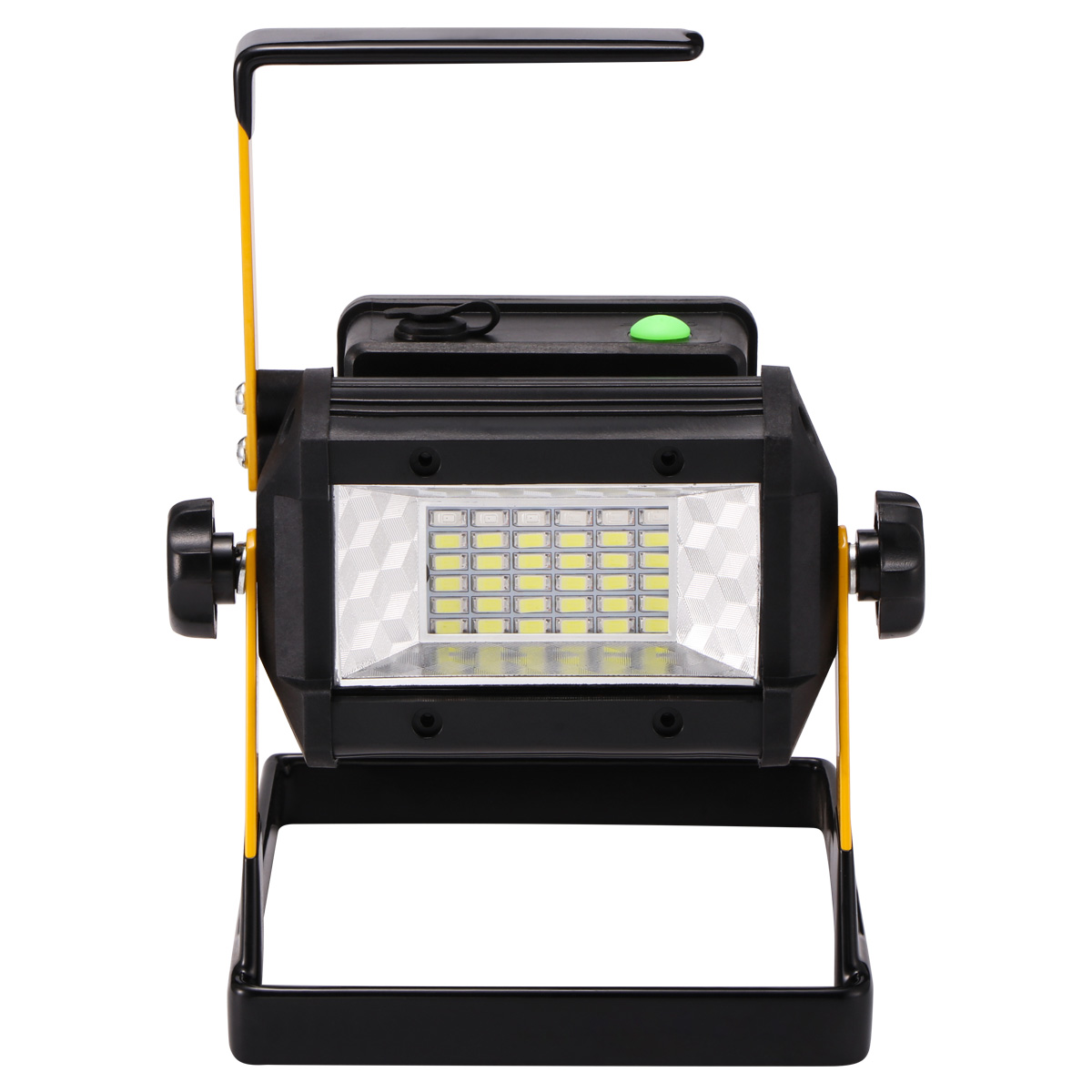 100W Solar LED Light USB Rechargeable Work Torch Flood Lamps Outdoor Camping UK