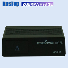 Zgemma Star 1ชิ้น/ล็อต ZGEMMA H9S SE Bulit ใน300M Wifi DVB S2X Multistream 4K UHD สนับสนุน ZGEMMA h9S SE Satellite Receiver