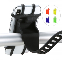 Универсальный велосипедный держатель для телефона, Регулируемый Силиконовый противоударный держатель для руля велосипеда, подставка для телефона, gps кронштейн, Аксессуары для велосипеда