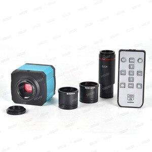 Image 1 - HAYEAR 14MP HDMI 1080P HD usb цифровой промышленный видео инспекционный микроскоп камера