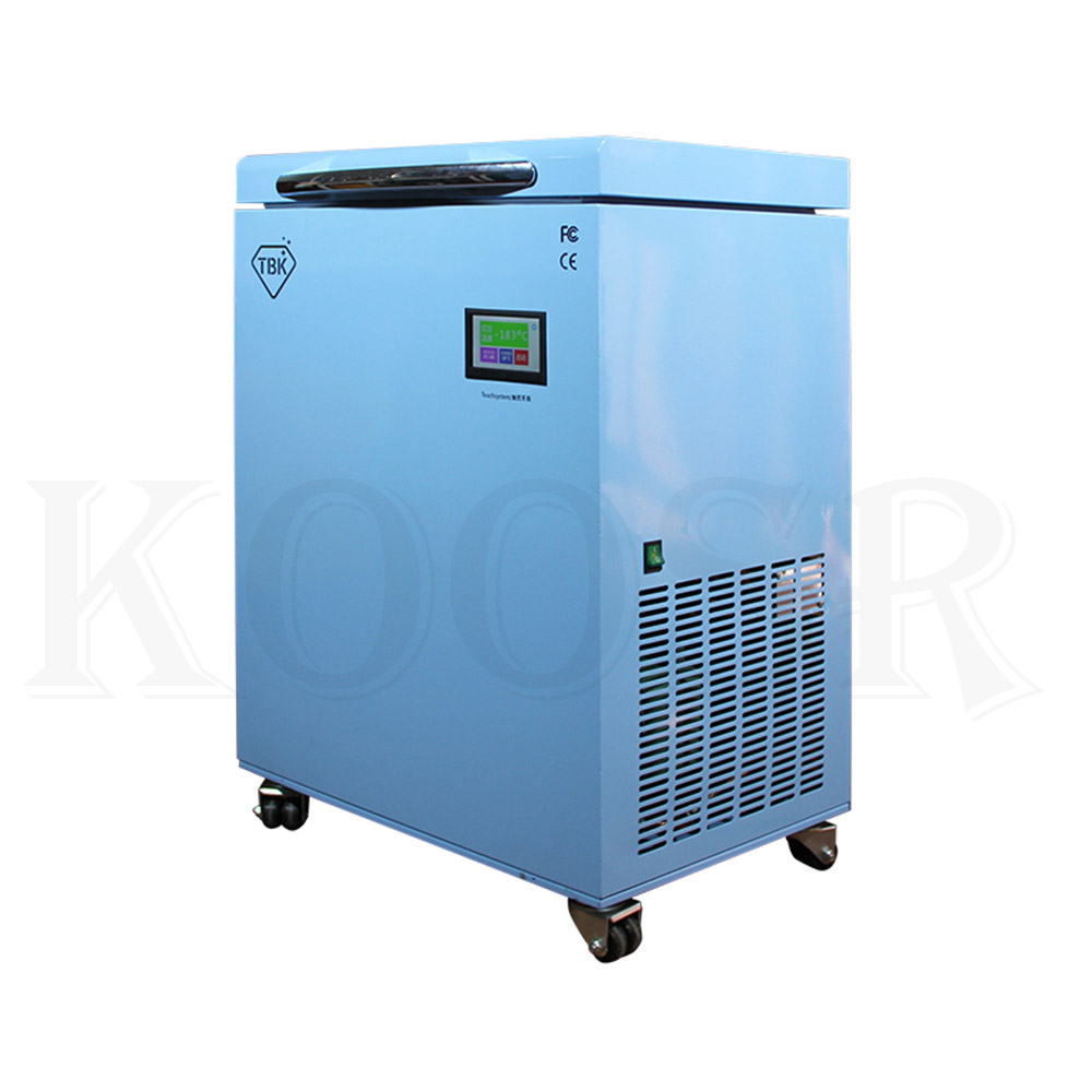 TBK-588A LCD Freezing Machine With -200C Lowest Working Temperature 4