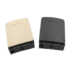 Image 2 - 1K0 862 532 New Black Beige Car Central Console Armrest Rear Cup Drink Holder For VW Jetta Golf GTI MK5 MK6 RABBIT Eos 1K0862532