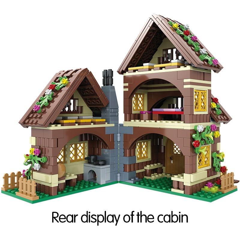 Winner Friends House Building Blocks,680PCS