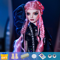 Shuga Fairy Mahars Doll BJD 1/4 fullset with complete professional makeup Movable Jointed Dolls Toys for Girls Gift