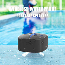 INWA Portable Bluetooth 5.0 Speaker Wireless Waterproof,Surround Sound System Hands-free Call Apply to Bathroom Office