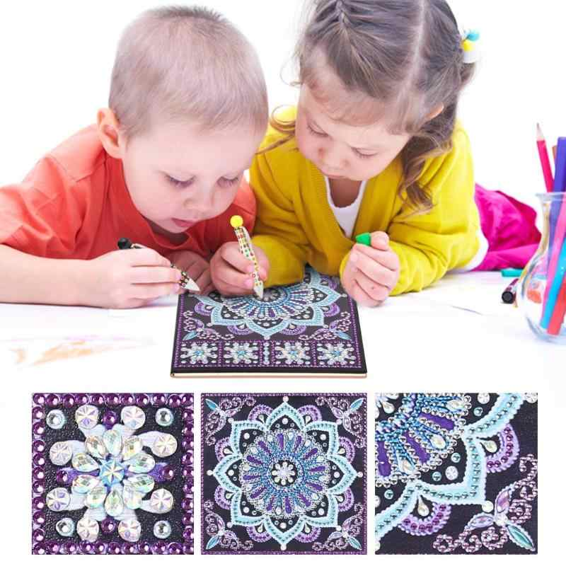 DIY Special Shaped Diamond Painting Notebook Diary Book 50 Pages A5 Notebook Embroidery Diamond Cross Stitch Note Book XMAS Gift