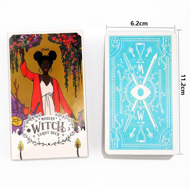 The Modern Witch Tarot Deck Guidebook Card Table Card Game Magical Fate Divination Card 2