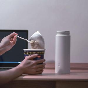Image 4 - Taza de agua eléctrica Youpin Viomi, 400ml, termo portátil, taza de guisado con Control táctil, olla de aislamiento, mantener el calor, botella para viajes al aire libre
