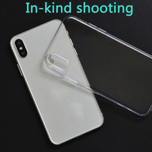 Silicone Soft TUP Phone Case For iPh 7 8 7P 8P for iph X XR XS MAX Clear protection shell Shockproof DIY Customized picture