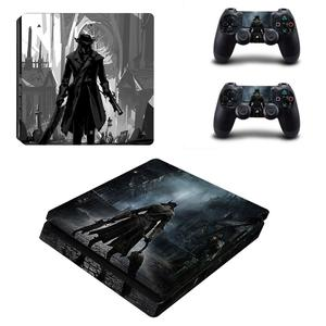 Image 4 - Bloodborne PS4 Slim Skin Sticker Decal Vinyl for Dualshock Playstation 4 Console & Controller PS4 Slim Skins Stickers Vinyl