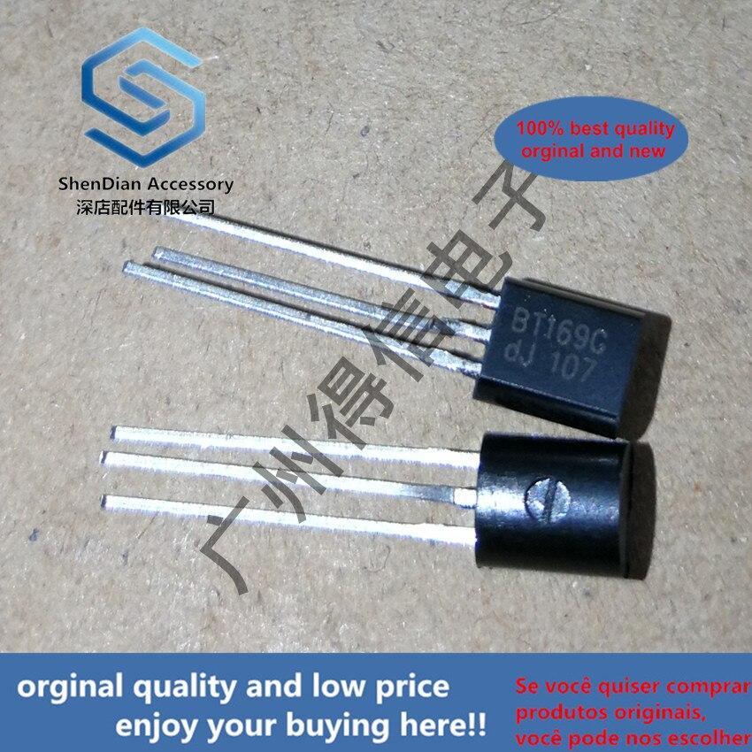 30pcs 100% Orginal New BT169G BT169 169 TO-92 Thyristors Logic Level  Real Photo