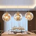 Moderne Minimalistischen Kreative Glas Ball Suspension Leuchte Nordic Kunst Schlafzimmer Esszimmer Led Kristall Lampe Hängen Lichter-in Pendelleuchten aus Licht & Beleuchtung bei