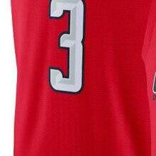 Мужские Молодежные женские баскетбольные майки Bradley Beal Джерси Белый Красный Черный