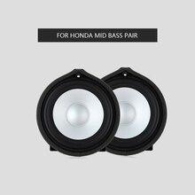 Midrange speaker For Honda Fengfan Accord Fit Civic Lingpai series car door HiFi loudspeaker audio sound music stereo horn стоимость