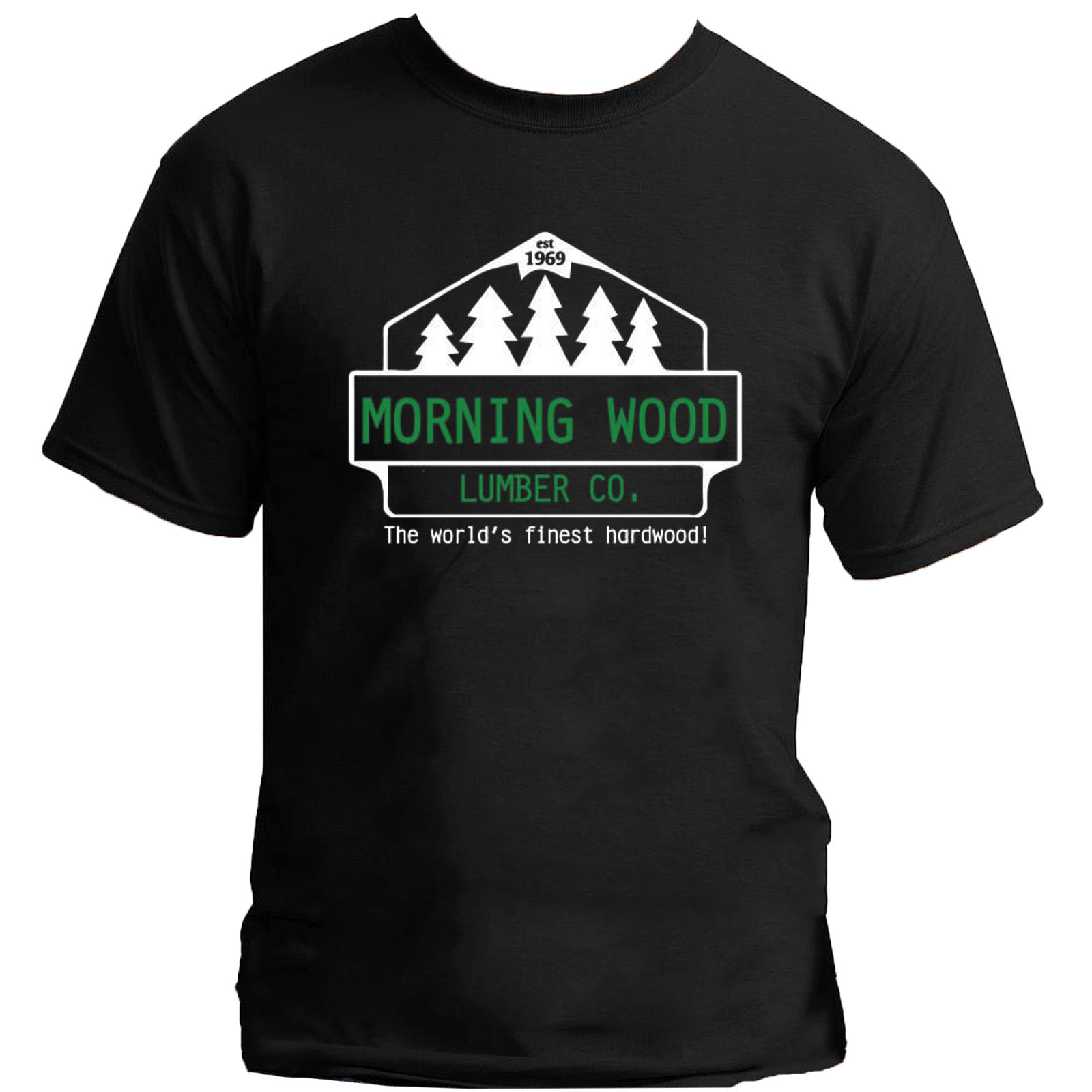 Morning Wood Lumber Company <font><b>Shirt</b></font> <font><b>Funny</b></font> Adult Guy <font><b>Sex</b></font> Humor Party Dude Joke 69 image