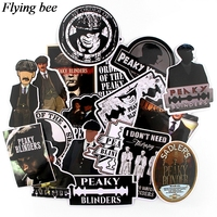 sticker motorcycle Flyingbee 18 pcs Peaky Blinders Cool Sticker men Stickers for DIY Luggage Laptop Skateboard Car Motorcycle Stickers X0729 (1)