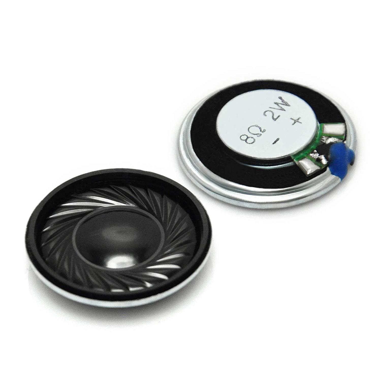 5pcs 2W 8R Mini Speaker 8 Ohm 2 Watt Ultra-thin Horn Speaker Diameter 40MM 4CM thickness Loudspeaker For Arduino Loud Speaker
