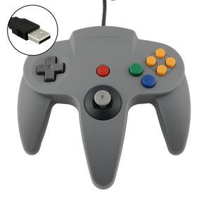 Image 2 - LBKAFA חוטית USB משחק בקר משחקי Joypad ג ויסטיק USB Gamepad עבור Nintendo משחק קוביית עבור N64 64 PC עבור Mac gamepad