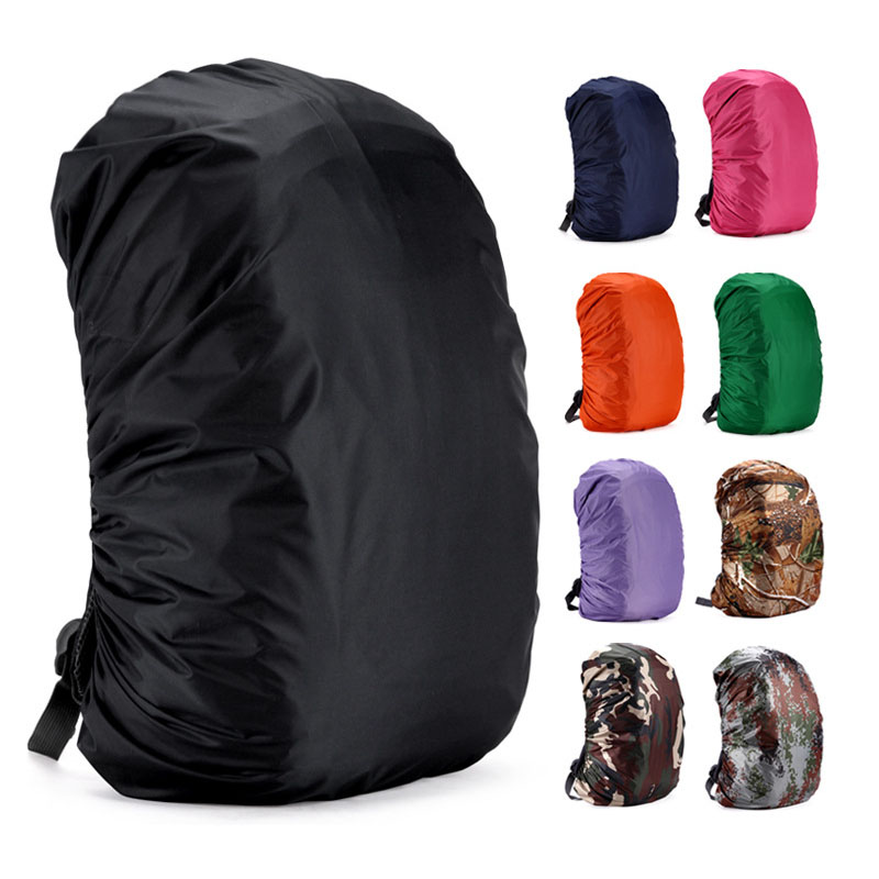 Backpack Rain Cover 20/45/80L Waterproof Dust Rucksack Bag Rain Cover Travel Outdoor Camping Hiking Climbing Back Pack Raincover