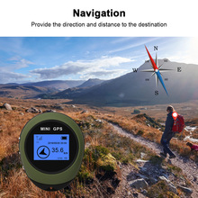 Receiver Gps-Tracker Navigation Hiking Outdoor Rechargeable Mini Location-Finder Electronic-Compass