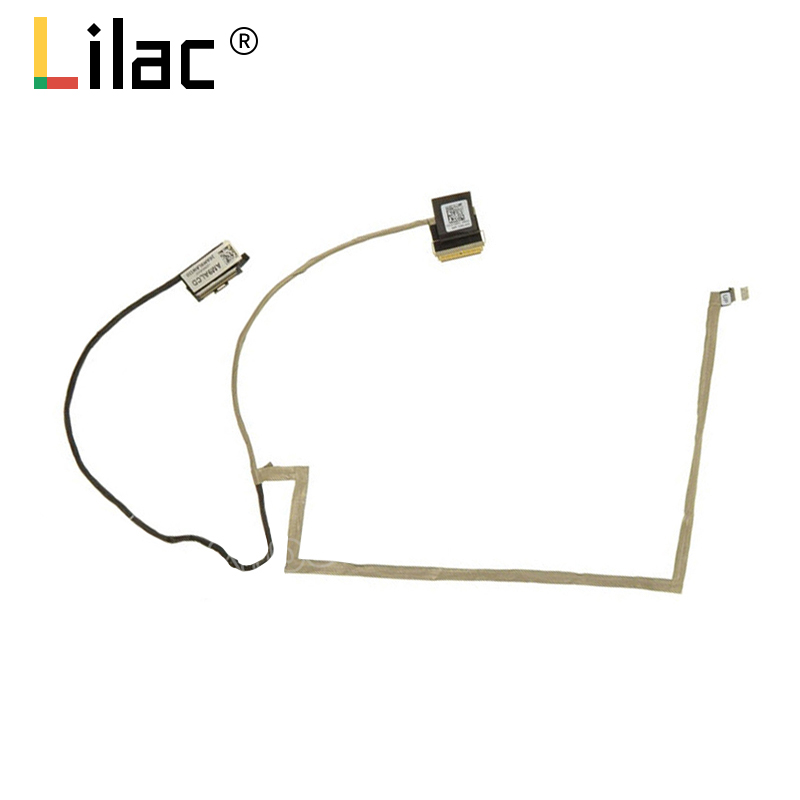 Flex wire For <font><b>Dell</b></font> <font><b>Inspiron</b></font> 7000 7557 7559 <font><b>5577</b></font> 5576 touch 40pin laptop LCD LED LVDS Display Ribbon cable DD0AM9LC100 0726R2 image