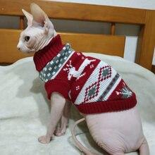 Roupas de inverno para gatos, pulôver de desenho para gatos kedi katten, mascotas, gatos, tamanhos de animais de estimação
