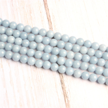 Natural Aquamarine Natural Stone Beads For Jewelry Making Diy Bracelet Necklace 4/6/8/10/12 mm Wholesale Strand