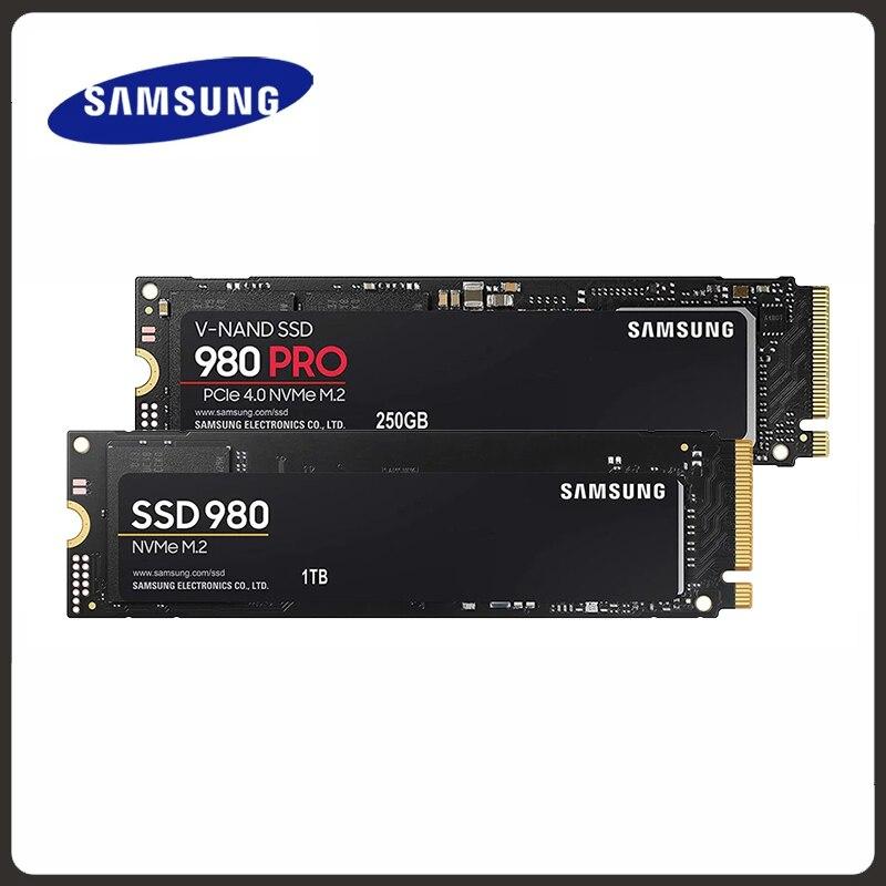 SSD M.2 SAMSUNG M2 1 TB 500G 250G HD NVMe 980 pro dysk twardy dysk twardy 1 TB 970 EVO Plus półprzewodnikowy PCIe do laptopa 1to