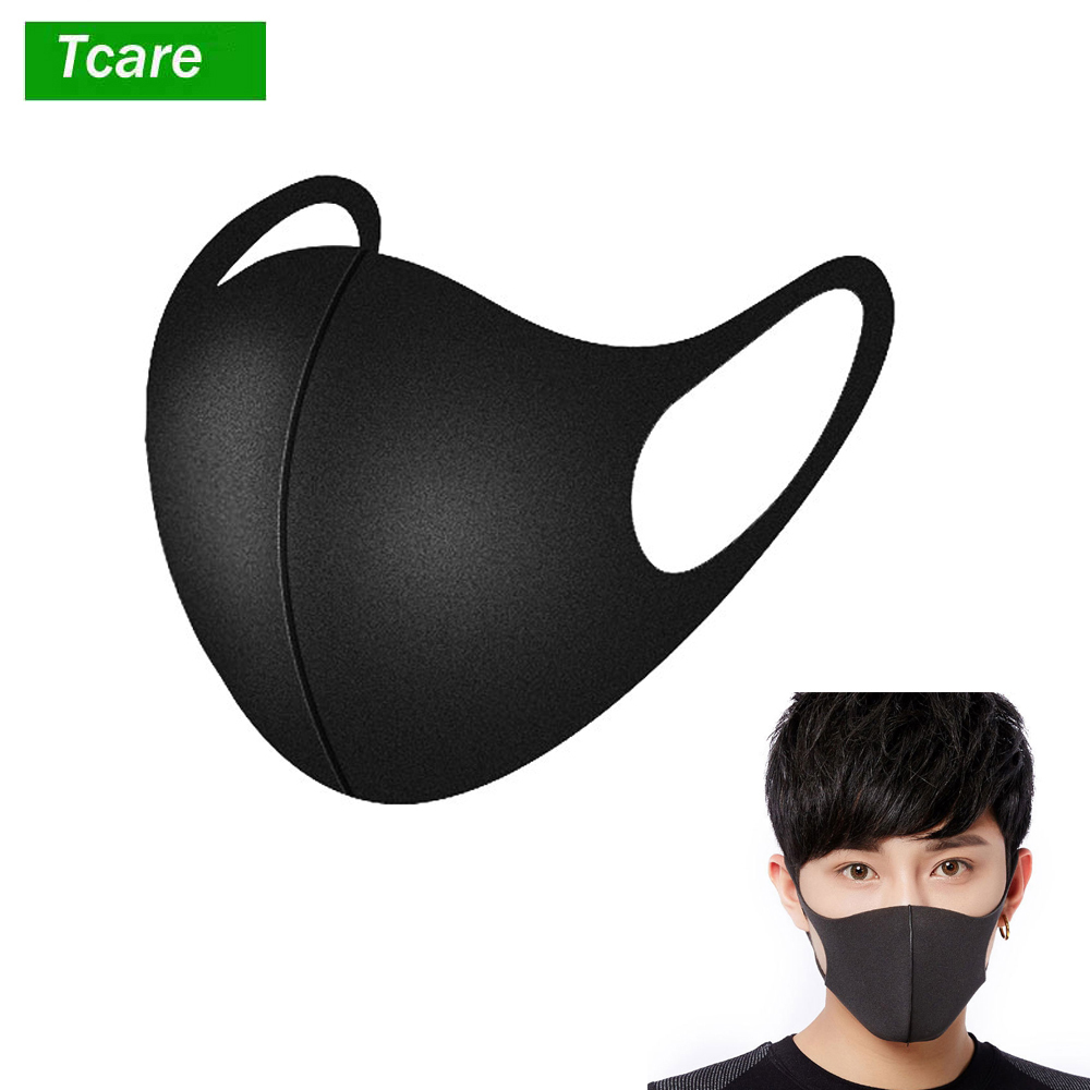 3Pcs/Set Pollution Mask Anti Air Dust And Smoke Pollution Mask With Earloop A Washable Respirator Mask Made For Men Women Kids