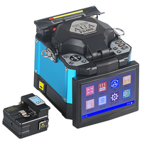 FS 60E Optical Fiber Fusion Splicer FTTH Fiber Optic Welder Splicing Machine better than Signalfire AI 8C free shipping