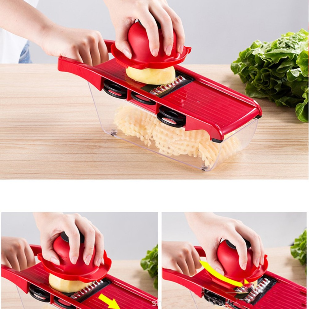 Vegetable Cutter Kitchen Accessories Slicer Fruit Cutter Potato Peeler Carrot Cheese Grater Vegetable Slicer Kitchen Tools