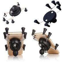 Soporte de agarre para motocicleta Webgrip X con bola de 1 pulgada, soporte para teléfono para montajes de Gopro Ram y teléfonos inteligentes de 3,5 pulgadas 6,0 pulgadas