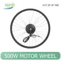 36V-48V 500W frente Motor trasero rueda de bicicleta eléctrica Kit de conversión de 27,5
