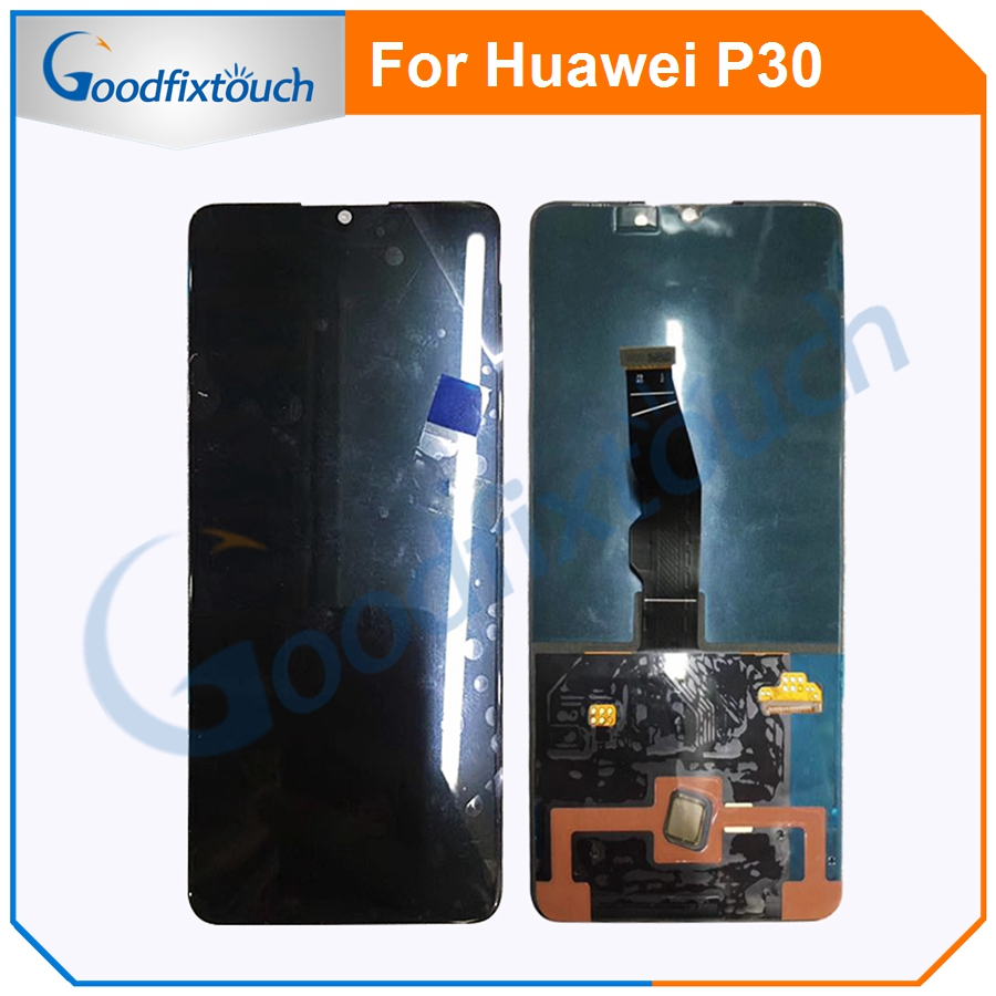 New Arrival For Huawei <font><b>P30</b></font> <font><b>LCD</b></font> Display with Touch Screen Digitizer Assembly <font><b>LCD</b></font> Screen For Huawei <font><b>P30</b></font> Replacement Parts image
