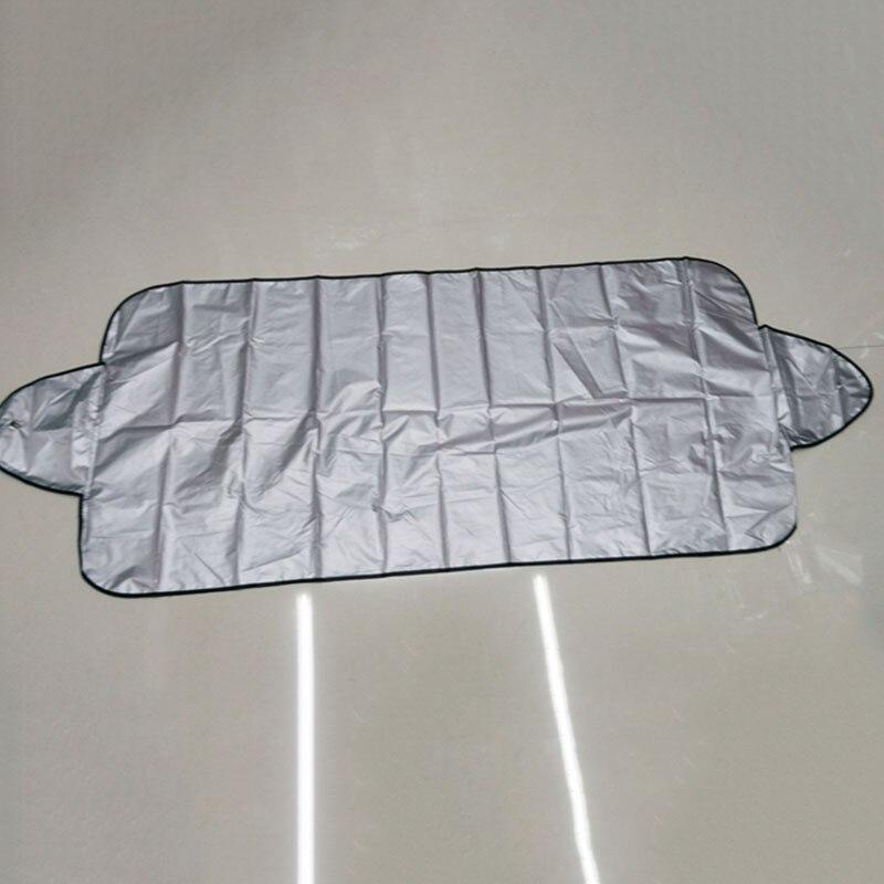 Windshield-Sunshade Protector Vehicle Auto-Sun-Visor SUV Magnetic Black Portable Vehemo