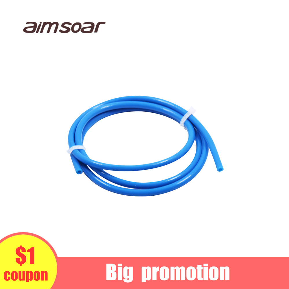 Teflon Tube Blue 1.75 Ptfe Tube Bowden Extruder 1.75mm Od 4mm Id 2mm 3d Printer Parts 1 Meter