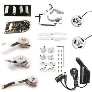 Image 1 - Brand New oryginalny dla DJI Phantom 4/4Pro/4Pro Advance 2.0 części naprawa Gimbal Roll/Pitch/silnik turbinowy ostrza ostrza elastyczny kabel