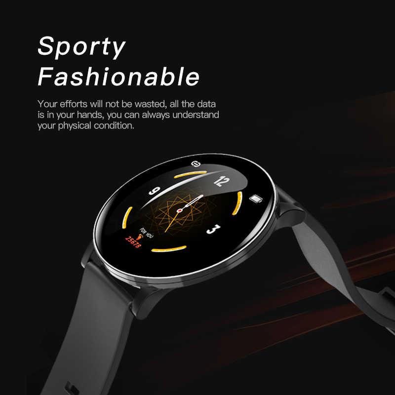 2019 OGEDA Mới Nam Smart Watch Chống Nước nhịp Tim theo dõi sức khỏe đa chế độ thể thao Bluetooth OTA nâng cấp reloj inteligente