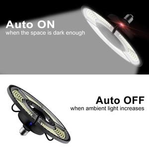 Image 3 - UFO LED Bulb 60W 80W 100W 120W E27 LED Lamp E26 LED Light 220V Deformable Lamp Garage Light 110V Waterproof Warehouse Lighting