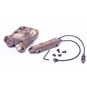 Image 4 - NEW Tactical Airsoft  Flashlight PEQ Green Laser LA 5C UHP IR Laser LED IR Laser LA5 softair tactical peq light Strobe
