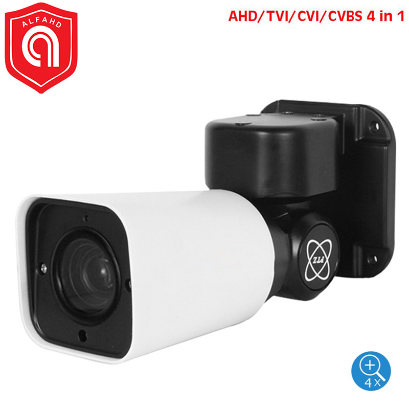 Caméra 7 mp/5 mp HD AHD PTZ | Mini caméra AHD PTZ shot, Zoom optique 5 mp 4X, vidéosurveillance d'extérieur, AHD CVI TVI CVBS, supporte une caméra RS485