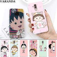 Cherry chibi maruko chan Cartoon Case for Huawei Mate 30 Pro 5G 20 10 P20 30 Lite Soft Silicone Coque Cover Phone Fundas Capa(China)